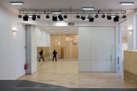Studio teatralne + sala baletowa, 2015