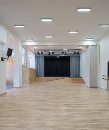 Sala baletowa + studio teatralne, 2015